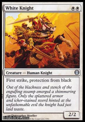 White Knight, Duel Decks: Knights vs Dragons, Magic the Gathering
