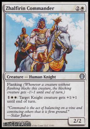 Zhalfirin Commander, Duel Decks: Knights vs Dragons, Magic the Gathering