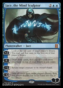 Jace, the Mind Sculptor,Eternal Masters, Magic the Gathering