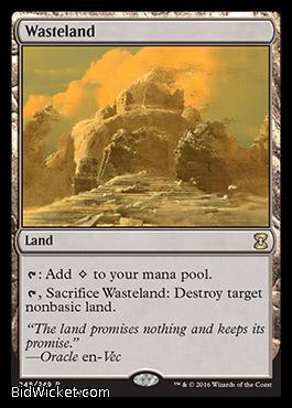 Wasteland,Eternal Masters, Magic the Gathering
