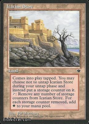 Icatian Store, Fallen Empires, Magic the Gathering