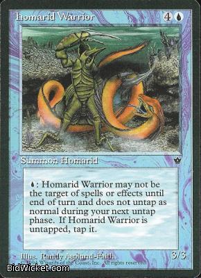 Homarid Warrior (1), Fallen Empires, Magic the Gathering