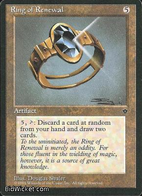 Ring of Renewal, Fallen Empires, Magic the Gathering