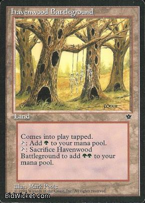Havenwood Battleground, Fallen Empires, Magic the Gathering