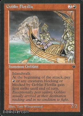 Goblin Flotilla, Fallen Empires, Magic the Gathering