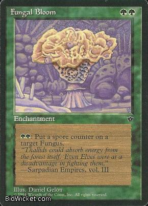 Fungal Bloom, Fallen Empires, Magic the Gathering