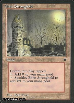 Ebon Stronghold, Fallen Empires, Magic the Gathering