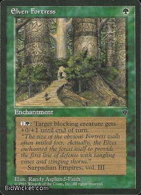 Elven Fortress (1), Fallen Empires, Magic the Gathering
