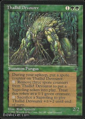 Thallid Devourer, Fallen Empires, Magic the Gathering