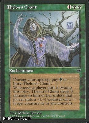 Thelon's Chant, Fallen Empires, Magic the Gathering