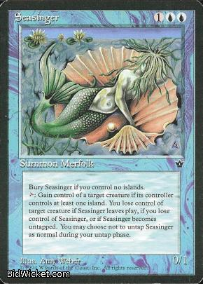 Seasinger, Fallen Empires, Magic the Gathering
