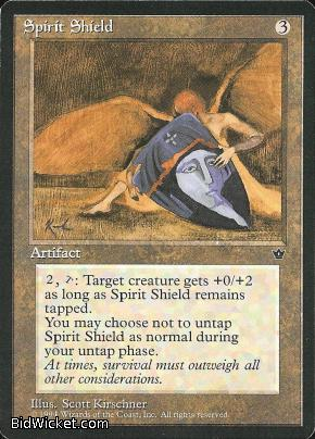 Spirit Shield, Fallen Empires, Magic the Gathering