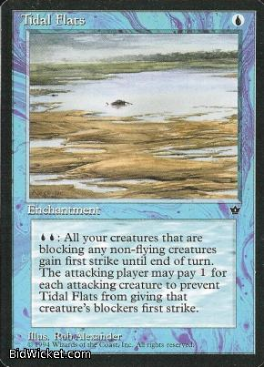 Tidal Flats (1), Fallen Empires, Magic the Gathering
