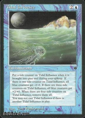 Tidal Influence, Fallen Empires, Magic the Gathering