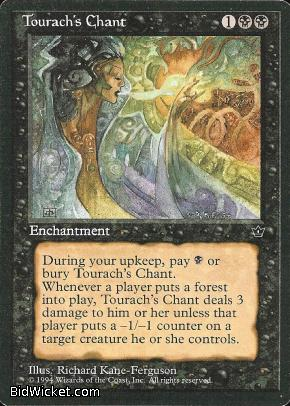 Tourach's Chant, Fallen Empires, Magic the Gathering