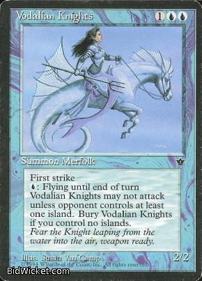 Vodalian Knights, Fallen Empires, Magic the Gathering