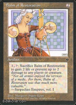 Balm of Restoration, Fallen Empires, Magic the Gathering