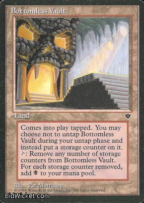 Bottomless Vault, Fallen Empires, Magic the Gathering