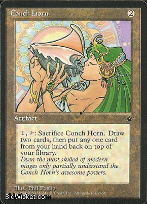 Conch Horn, Fallen Empires, Magic the Gathering