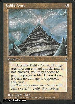 Delif's Cone, Fallen Empires, Magic the Gathering