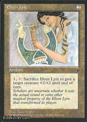 Elven Lyre, Fallen Empires, Magic the Gathering