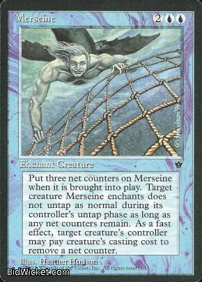 Merseine (1), Fallen Empires, Magic the Gathering