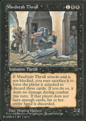 Mindstab Thrull (1), Fallen Empires, Magic the Gathering