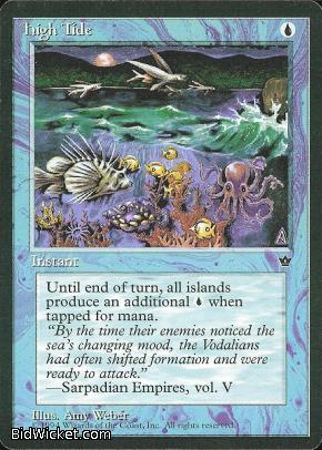 High Tide (3), Fallen Empires, Magic the Gathering