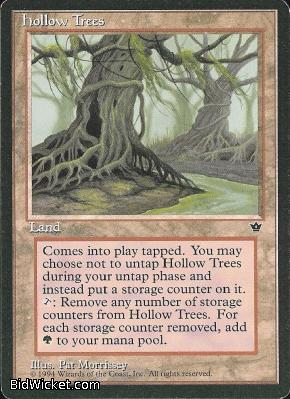 Hollow Trees, Fallen Empires, Magic the Gathering