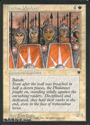 Icatian Phalanx, Fallen Empires, Magic the Gathering