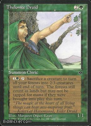 Thelonite Druid, Fallen Empires, Magic the Gathering