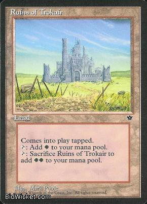Ruins of Trokair, Fallen Empires, Magic the Gathering