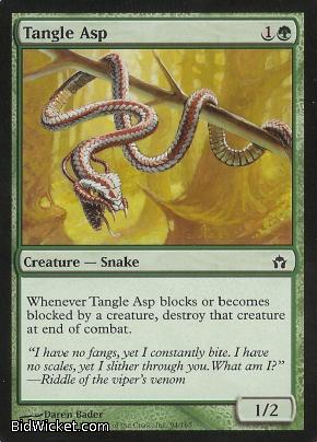 Tangle Asp, Fifth Dawn, Magic the Gathering