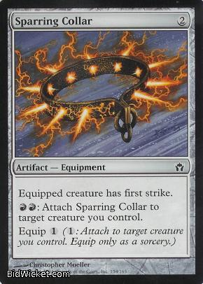 Sparring Collar, Fifth Dawn, Magic the Gathering