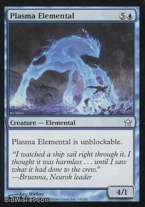 Plasma Elemental, Fifth Dawn, Magic the Gathering