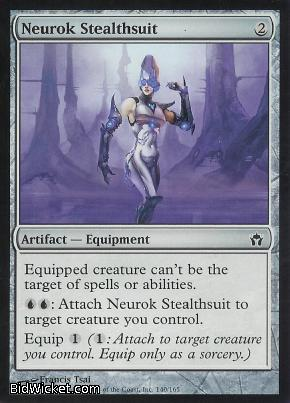 Neurok Stealthsuit, Fifth Dawn, Magic the Gathering