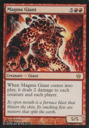 Magma Giant, Fifth Dawn, Magic the Gathering