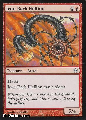 Iron-Barb Hellion, Fifth Dawn, Magic the Gathering