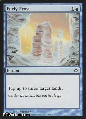 Early Frost, Fifth Dawn, Magic the Gathering