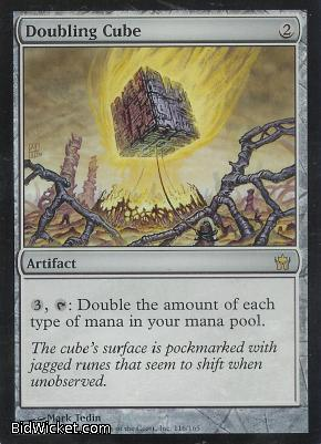 Doubling Cube, Fifth Dawn, Magic the Gathering
