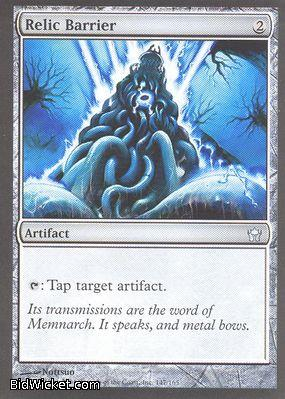 Relic Barrier, Fifth Dawn, Magic the Gathering