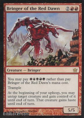 Bringer of the Red Dawn, Fifth Dawn, Magic the Gathering