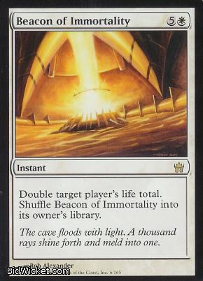 Beacon of Immortality, Fifth Dawn, Magic the Gathering