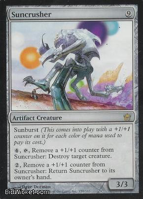 Suncrusher, Fifth Dawn, Magic the Gathering