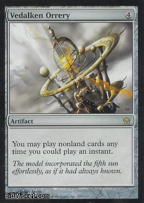 Vedalken Orrery, Fifth Dawn, Magic the Gathering