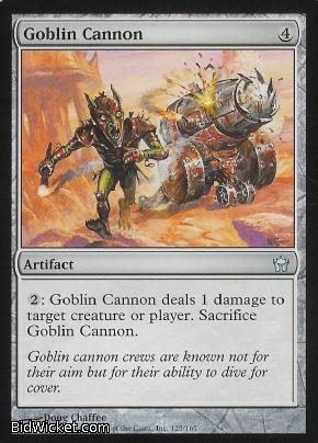 Goblin Cannon, Fifth Dawn, Magic the Gathering