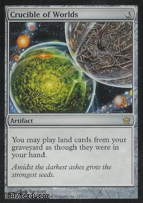 Crucible of Worlds, Fifth Dawn, Magic the Gathering