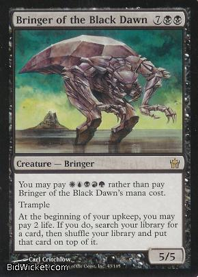 Bringer of the Black Dawn, Fifth Dawn, Magic the Gathering
