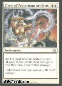 Circle of Protection: Artifacts, Fifth Dawn, Magic the Gathering