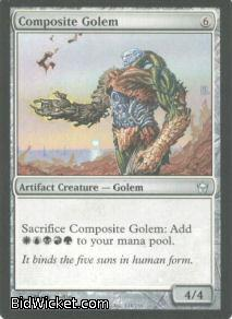 Composite Golem, Fifth Dawn, Magic the Gathering